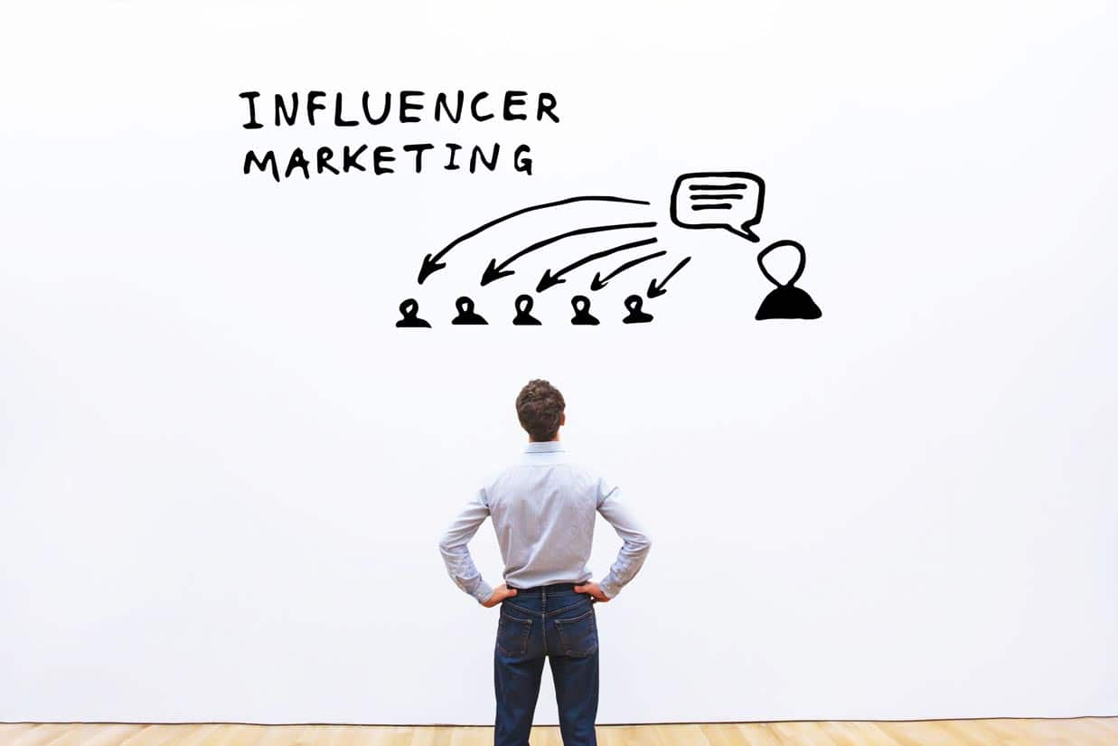 Bloggerin betreibt Influencer Marketing
