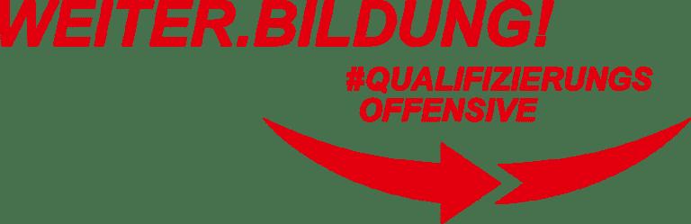 Das Logo der Qualifizierungsoffensive.