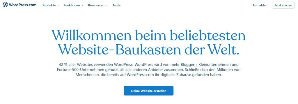 2021 06 30 10 22 54 WordPress.com Erstelle kostenlos eine Website oder ein Blog und 7 weitere Seite