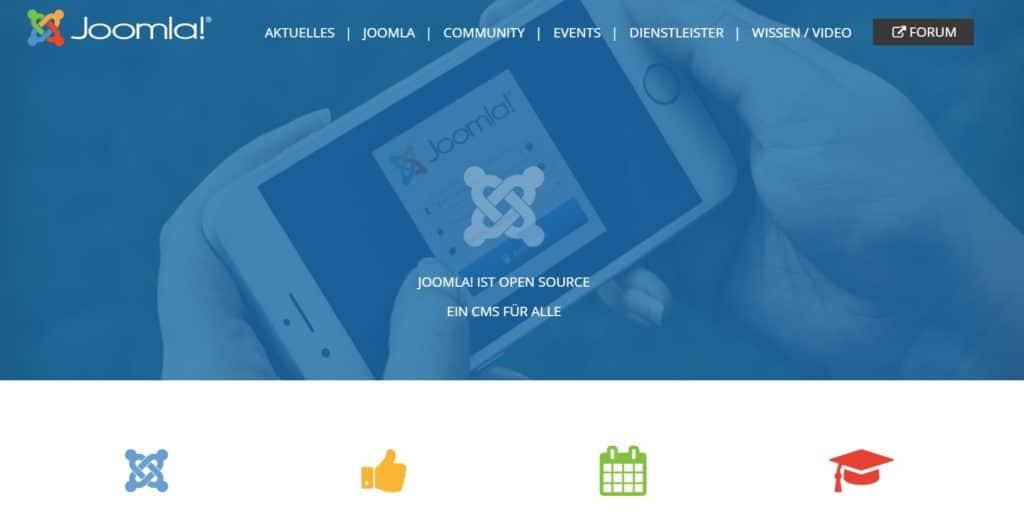 2021 06 30 10 24 25 Joomla Das Open Source CMS und 6 weitere Seiten Geschaeftlich – Microsoft Edg