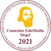 Ein Logo des Comenius Siegel 2021.