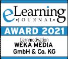 Logo des E-Learning Award 2021.
