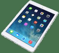 iPad mit Apps auf Bildschirm