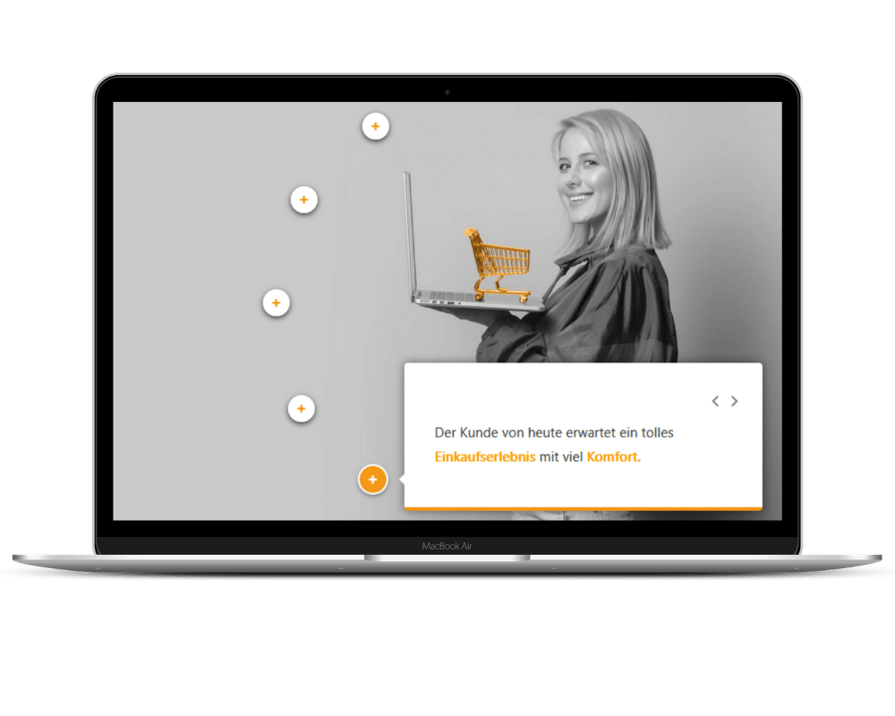 Digital Sales Basics Laptop Ansicht