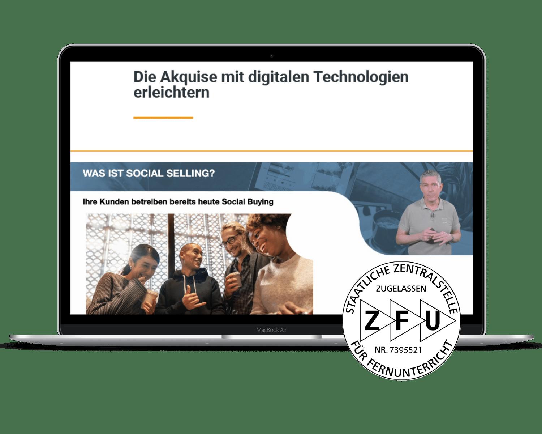 Digital Sales Manager ZFU zertifiziert